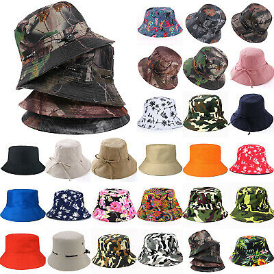 86920fc3 Men Women Bucket Boonie Hat Hiking Fishing Beach Festival Outdoor Summer  Sun Cap