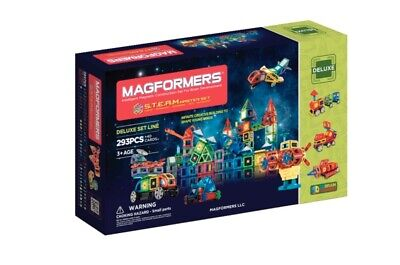 Magformers S.T.E.A.M. Master Set, 293 Pieces and 40 Cards School Specialty