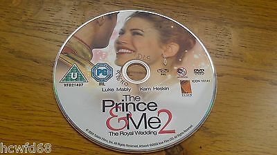 Dvd The Prince & Me 2 The Royal Wedding Cert U 2008