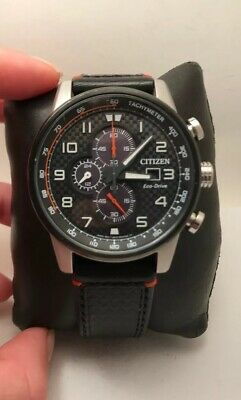 Citizen Eco-Drive Mens Primo Series Chronograph Watch CA0681-03E-H53