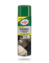 Turtle Wax Interior 1 Car Seat Upholstery Dry Foam Cleaner 500ml