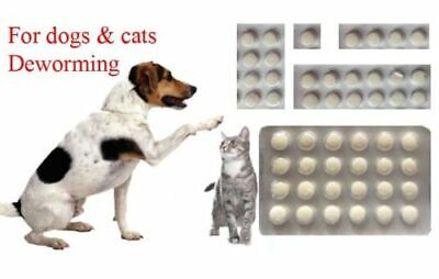 10 Tablets, Dog and Cat Wormer, Worming Tablets, Dewormer, EXP.2021