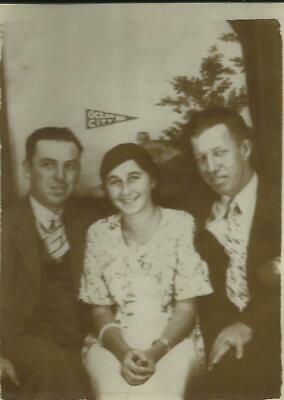 Ocean City Maryland Photo Booth Style 1910s Vintage Photo