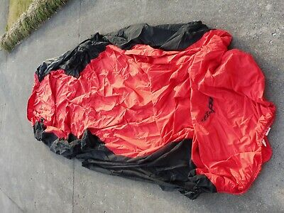 Corvette Coverking Stormproof Car Cover C6 Logo with Storage Bag Red & Black