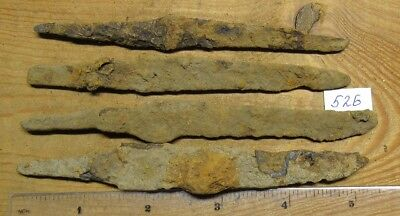 Ancient iron knives of Kievan Rus Viking 8-11 century. # 526