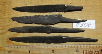 Ancient iron knives of Kievan Rus Viking 8-11 century. # 509