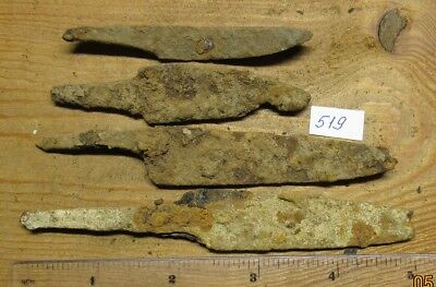 Ancient iron knives of Kievan Rus Viking 8-11 century. # 519