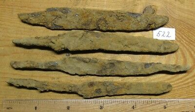 Ancient iron knives of Kievan Rus Viking 8-11 century. # 522