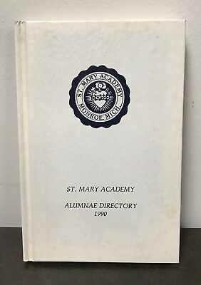 Vintage St. Mary Academy Alumnae Directory 1990