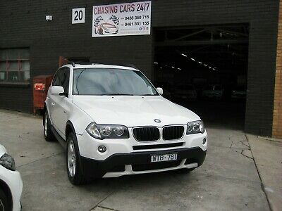 2008 Bmw X3 2.0D 115,000 Klms Sunroof 2 Keys Books Rwc Reg 12/19 A1 $11999