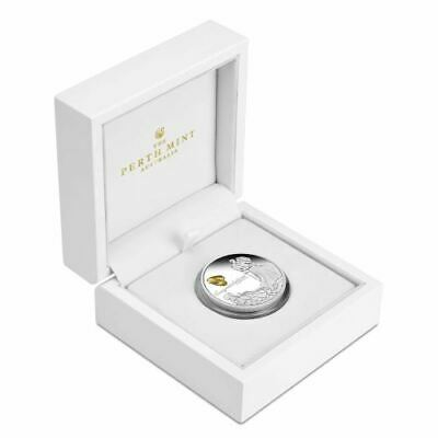 New Perth Mint Wedding 2019 1oz Silver Proof Coin