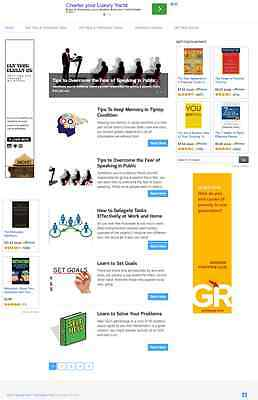 MOTIVATION and SELF HELP BLOG WEBSITE BUSINESS FOR SALE! MOBILE FRIENDLY