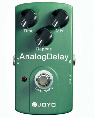 Joyo pedal JF-33 Green Analog Delay pedal Guitar Effect Pedal True Bypass