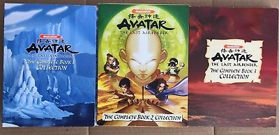 Avatar The Last Airbender Complete Book 1 2 3 Collection on DVD Box Set 16 DVDS