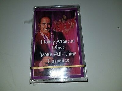 Henry Mancini - Plays Your All Time Favorites - Readers Sealed  - Cassette Tape