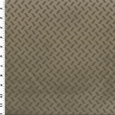 Taupe Brown Velvet Performance Home Decorating Fabric, Fabric By The Yard