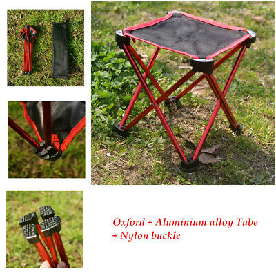 Outdoor Oxford Camping Hiking Foldable Chair Folding Fishing Garden Stool