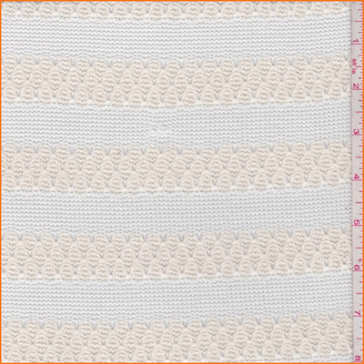 a8c313a2969 POINTELLE 100% COTTON JERSEY STRETCH KNIT FABRIC dressmaking sewing ...