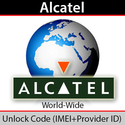 Alcatel OneTouch Pop UNLOCK CODE NETWORK UNLOCK PIN