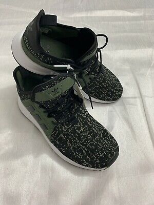 bdd3b0490 adidas Originals X PLR J Green Olive Men Running Shoes Sneakers F99742 Size  6