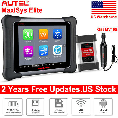 AUTEL MAXISYS ELITE OBD2 Auto Diagnostic Tool Scanner ECU