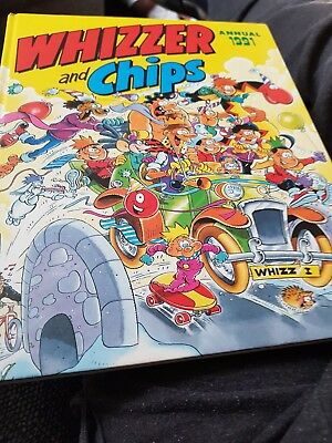The Whizzer And Chips Annual 1991 X GOOD CONDITION X 1215 X