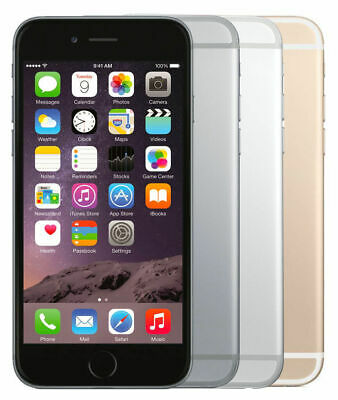 Apple Iphone 6 16Gb, 32Gb, 64Gb, 128Gb Spacegrau, Silber, Gold - Wie Neu - Wow