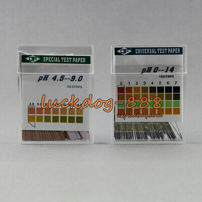 PH Test Strips for Urine Saliva Body Level 100 Strip Accurate & Reliable 4.5-9.0