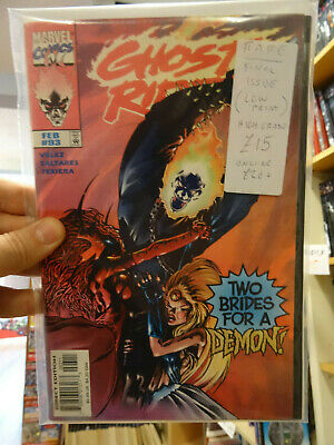 Ghost Rider #93 Last Issue Low Print Run HTF VF