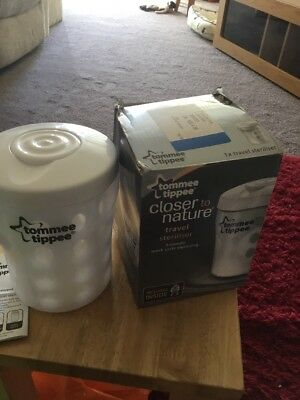 Tommee Tippee Travel Microwave Steriliser Only