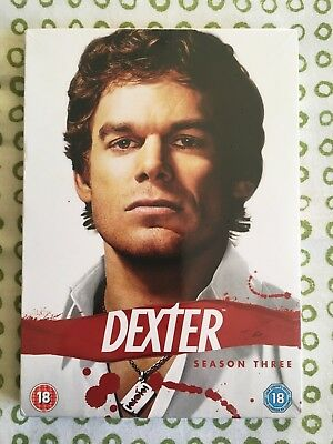 Dexter - Complete Season Three / Series 3 (DVD 4-Disc Box Set) - New & Sealed!