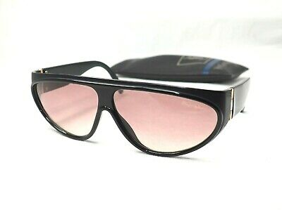 YSL Yves Saint Lauren 8161 sunglasses aviator unisex black brown
