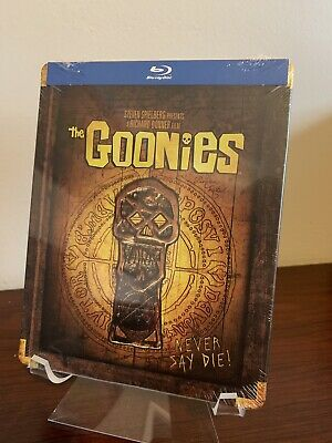 The Goonies Steelbook (Blu-ray, 2018, Limited Edition, Rare OOP) Factory Sealed
