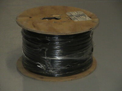 Carol C8028.41.01 RG59 18/2C Siamese Coaxial Power Cable Black 1000' Reel New
