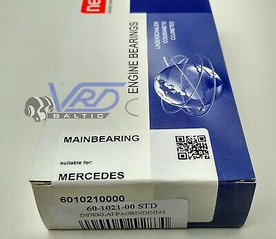 Main Shell Bearings Std For Mercedes Benz C180 C200 Clc 180 Clk 200 1.8 16V M271