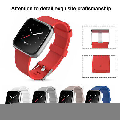 Silicone Smart Watch Band Wrist Strap Replacement For Fitbit Versa Lite/versa O