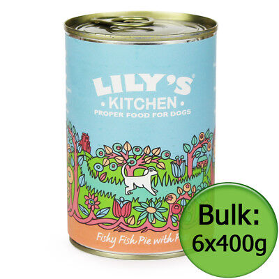 Fishy Fish Pie with Peas for Dogs (Lily's Kitchen) 6x400g