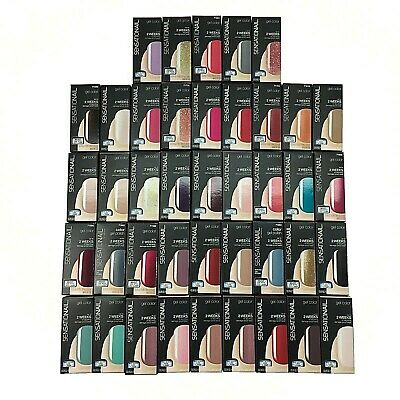 Sensationail By Nailene Gel Nail Polish 0.25 oz **Choose Color** Made In USA