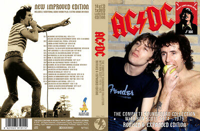 AC/DC the Complete SBD Collection with Bon Scott 1974-1979  16 CD+1 DVD BOXSET