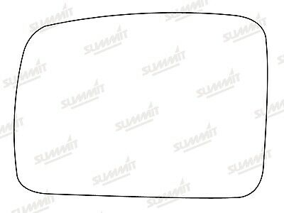 Summit Srg-714 Left Hand Side Mirror Glass For Land Rover Discovery, Freelander