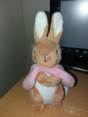 MARKS AND SPENCERS M AND S pink bunny soft toy
