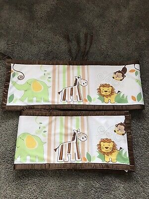 Breathable Baby Cot Bumper 4 Sided