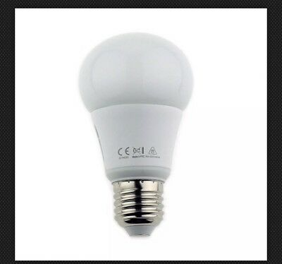 TO 42W 5000K NON-DIMMABLE 80CRI 260° FROSTED Integral LED GLS E27 500LM 6W EQ