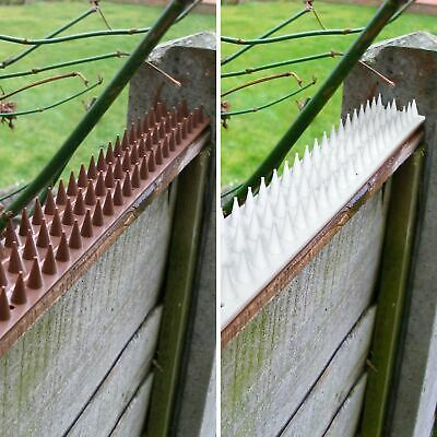 Anti Climb Spikes Fence Wall Security Spikes Bird Cat Repellent Prickle Strips