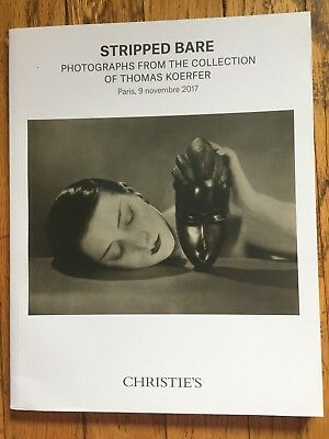 Christie's Catalog - Stripped Bare: Photographs From Thomas Koerfer Collection