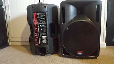 DB TECHNOLOGIES 12 Active(Pair)  MADE IN ITALY   rcf,Mackie,Lem,Fbt martin  audio