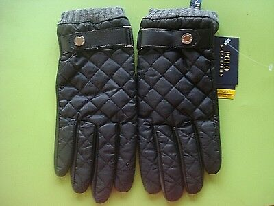 Deerskin Polo Gloves Tan Mens New Leather Zippers Lauren Ralph gyImf6Yb7v