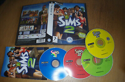 THE SIMS 2 Base Game, PC CD-ROM set (4 Disc) for Windows - £5 99