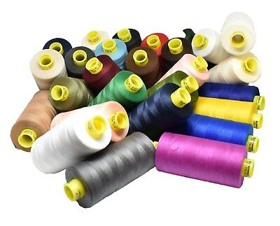 Gutermann 120 Polyester Sew All Thread 1000m Choice of Colours