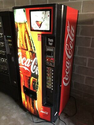 Pop Machine For Sale >> Soda Vending Machine 7 Up Soft Drink Pop Machine 475 00 Picclick
